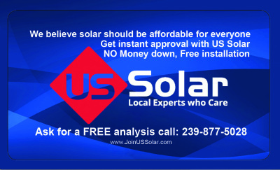 US Solar Ask for a FREE analysis